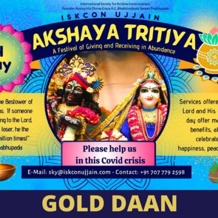 Akshay Tritiya – Gold
